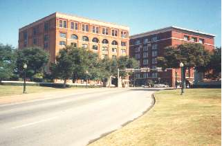 Dealey Plaza, scene of the crime
